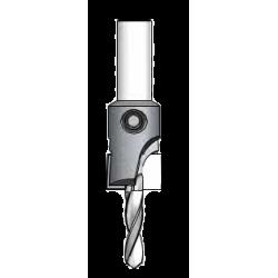 Цилиндричен зенкер§HSS свредло