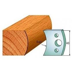 Нож профилен 40мм