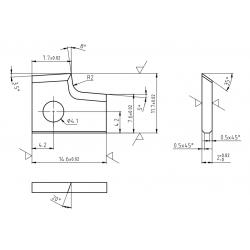 Пластини за кантираща машина CEHISA-Compact