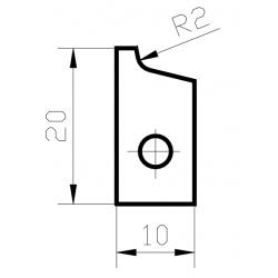 Пластини за кантираща машина HIRTZ JUMP.2