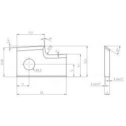 Пластини за кантираща машина CEHISA-Compact S-Pro