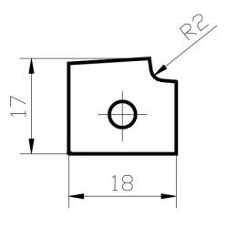 Пластина за кантираща машина FORMAT 4 Tempora 60.12