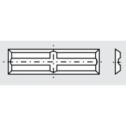 Сменяеми пластини с канали