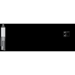 CNC прав фрезер с централна пластина