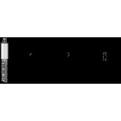 CNC фрезер смемяеми пластини 12x12