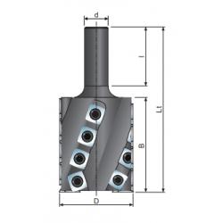 CNC хеликален фрезер D50