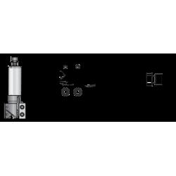 CNC фрезер за вкопаване см.пластини