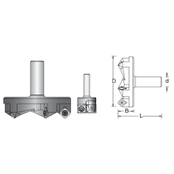 CNC фрезер за вкопаване 807