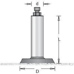CNC държач за циркулярен диск DIMAR