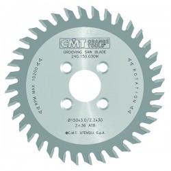 CNC циркулярен диск за канал CMT