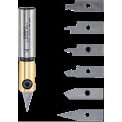 CNC фрезер за гравиране със сменяеми пластини
