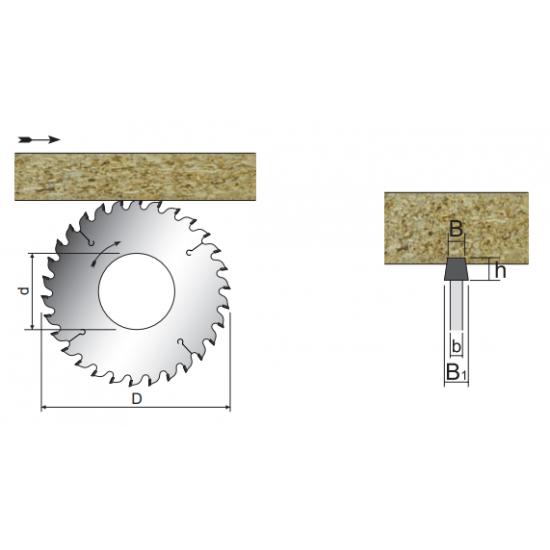 PCD конусен подрезвач