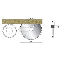 PCD основен циркулярен диск