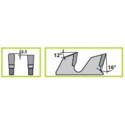 Основни дискове за пакетни разкройващи циркуляри