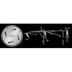 Циркулярни дискове за надлъжно рязане
